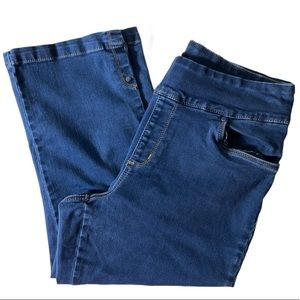 French Dressing Jeans Casual Bootcut Med Wash Sz12
